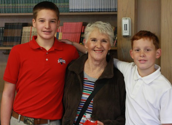 Grandparents and Special Friends Day–November 24