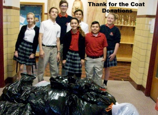 Student Council Sponsored Coat Drive