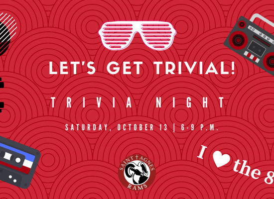 Let's Get Trivial!  2018 Trivia Night–Saturday, October 13